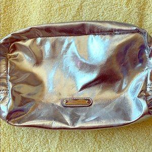 Rebecca minkoff metallic makeup bag